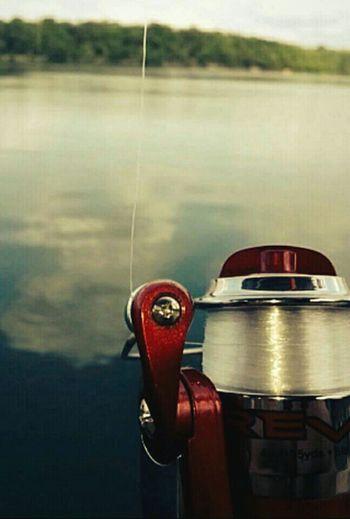 Fishing Fishing Rod Lake Lake View