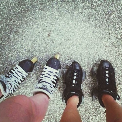 why wake and bake when you can Rollerskate