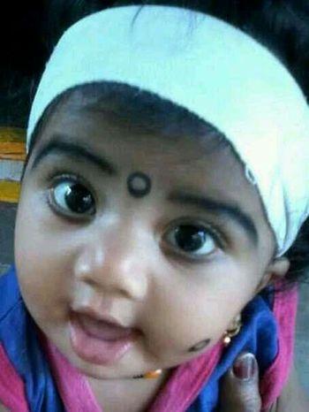 Cute baby sanvi