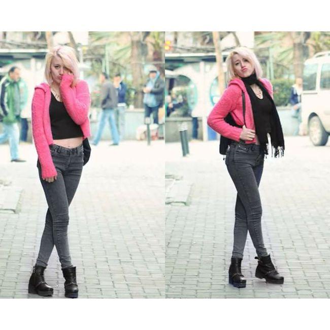 Pink Blonde Girl