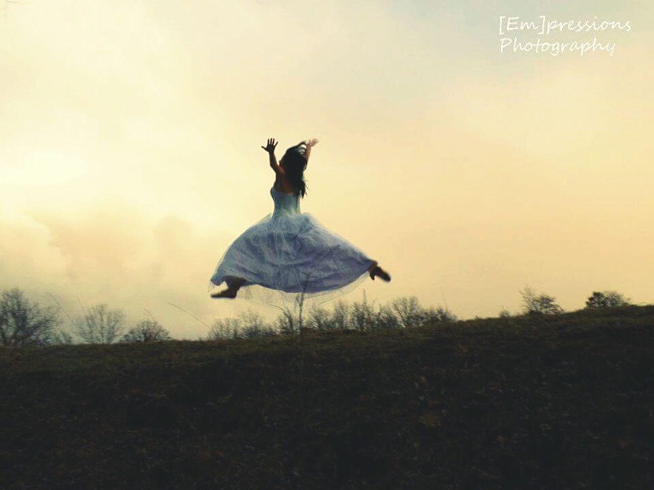Capturing Freedom Sunset Ballerina