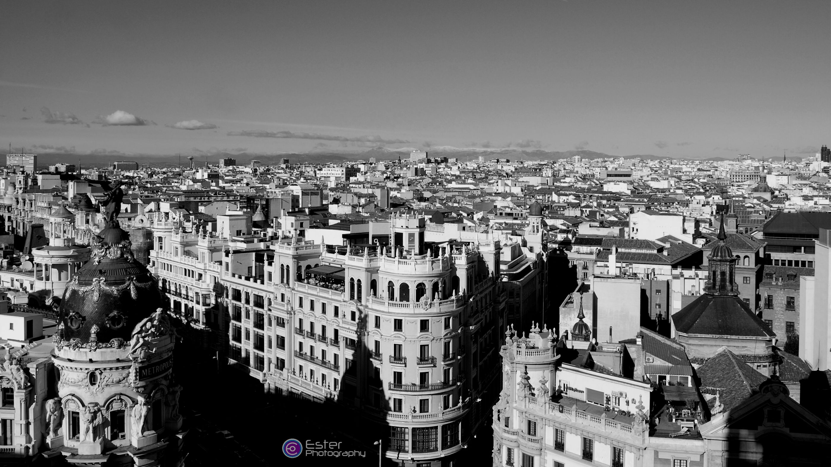 Madrid, Spain, my Town. :) Join with us in the Bnw_friday_eyeemchallenge with your amazing Urban Landscape only in Black And White and enjoy it. :D Streetphotography