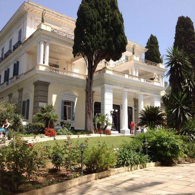 Achilleion Palace, Corfu.
