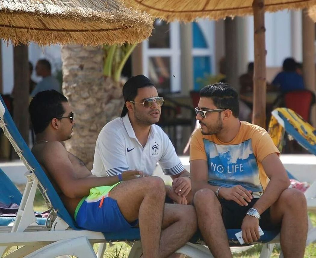 Taking Photos Summer Tunisia Friends