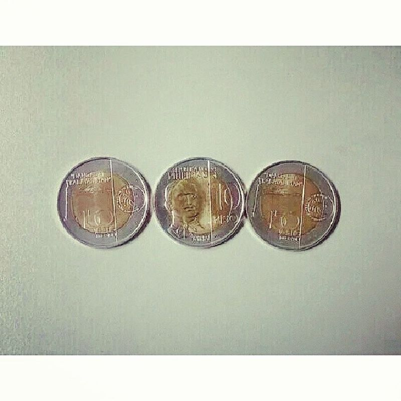 A new 10 peso coin :)) Php