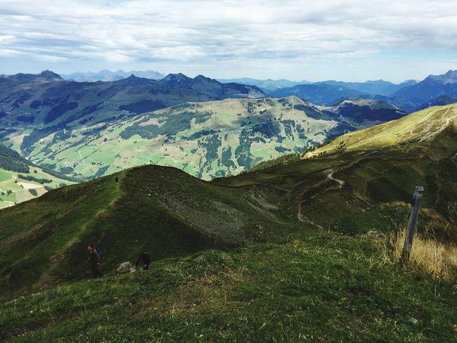 Natur Sommer Naturelovers Naturpur Österreich Erholung Wandern Bergwiese Berge Wanderlust Saalbach Clouds And Sky GoodDay❤