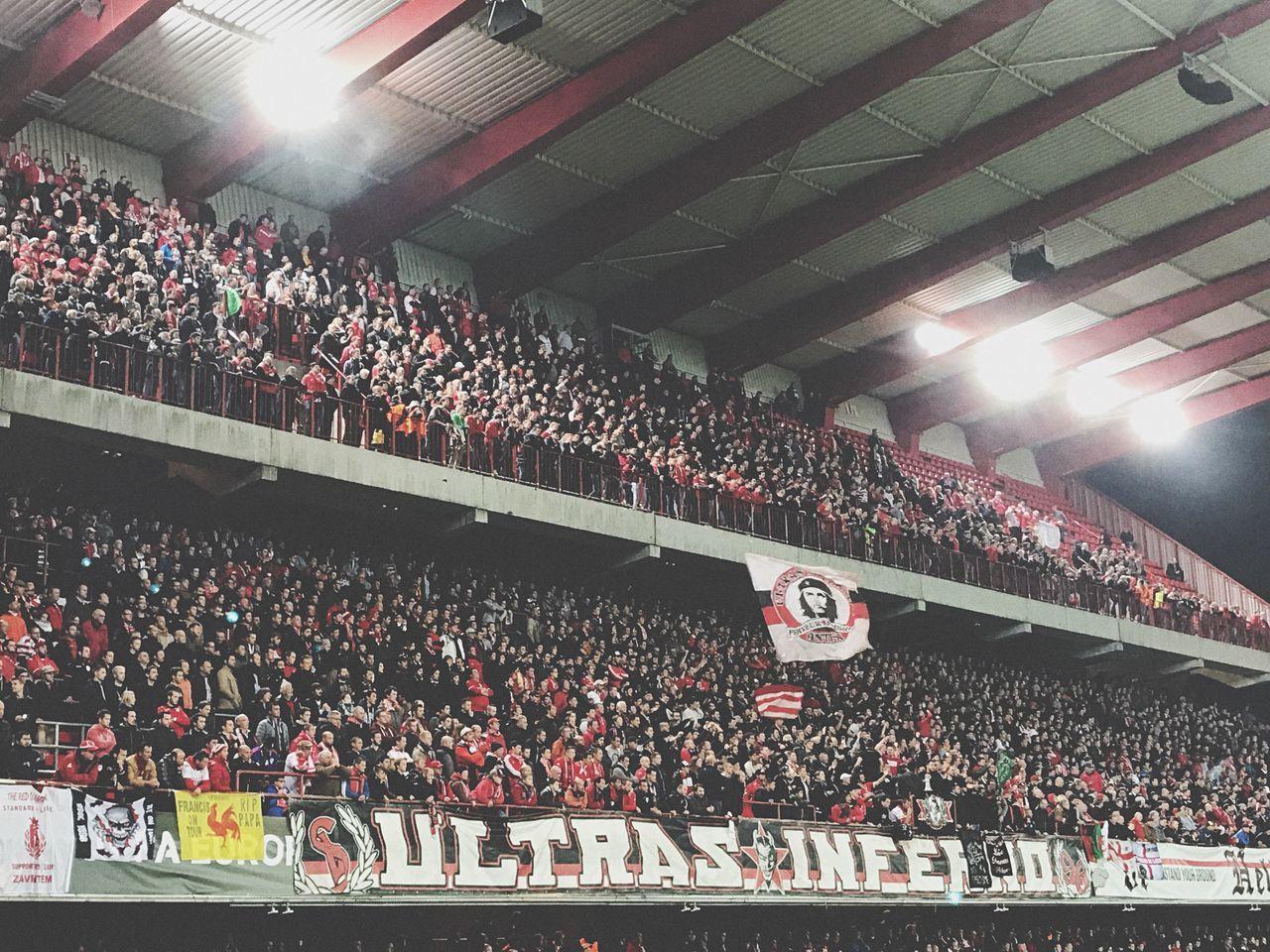 Sport Stadium Football Supporters Liège UEFA Che Guevara Flag