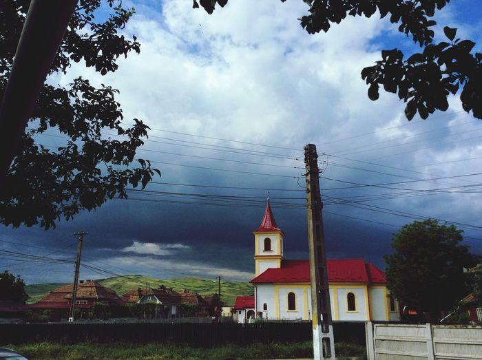 Stormy weather Chetani,romania