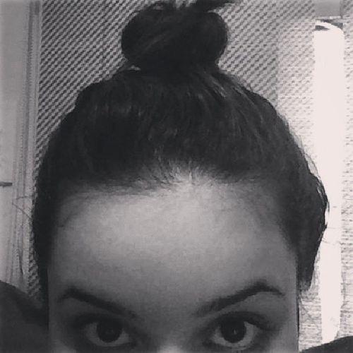 oin. meu cabelo já faz um coque, cresceu. yeah! Cabelin Crescendo Coque Olheiras Umbeijo