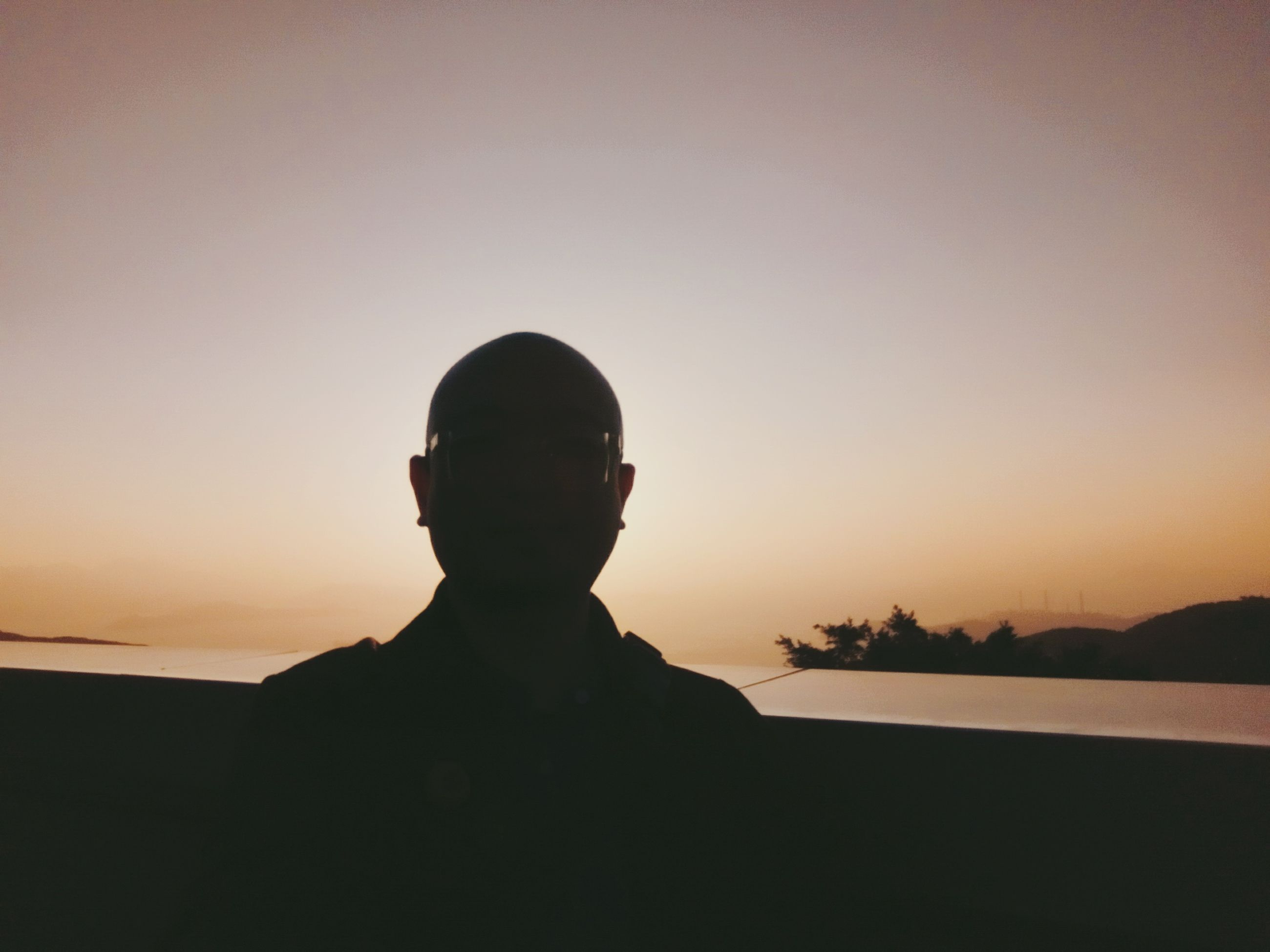 sunset, silhouette, sky, one person, nature, sun, beauty in nature, scenics, outdoors, clear sky, childhood, real people, people