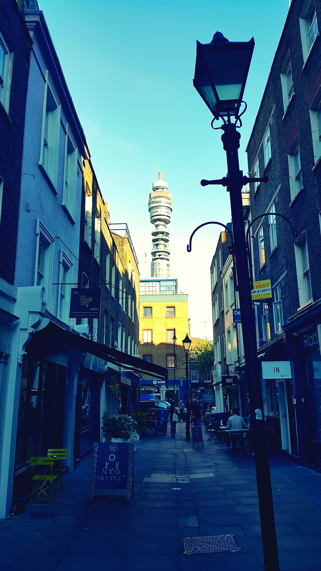 Architecture Street City Built Structure Building Exterior Clear Sky City Street Tower Sky Tall - High City Life BT Tower BT Tower London