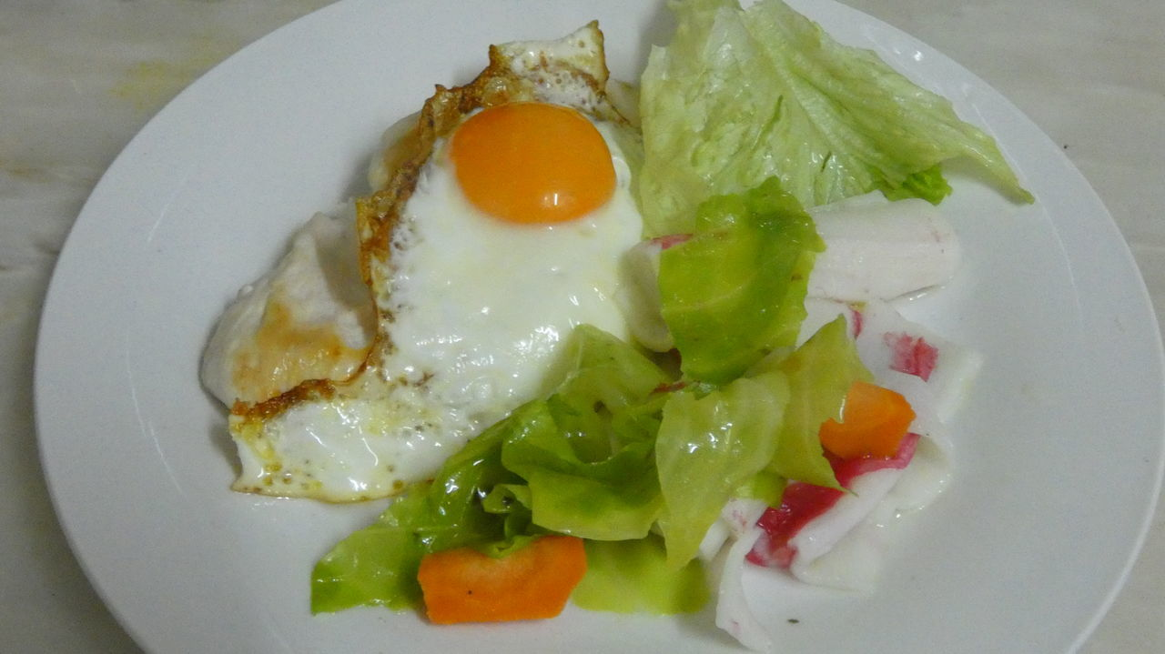 healthy eating, food, food and drink, freshness, no people, plate, close-up, indoors, ready-to-eat, egg yolk, day