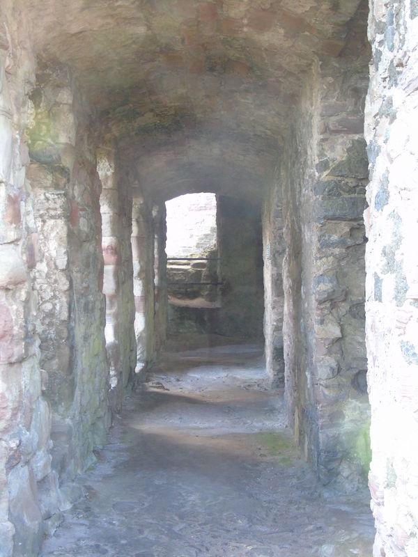 Tantallon Castle Framing Leading Lines Contrast Colour Scotland Outdoors Castle History