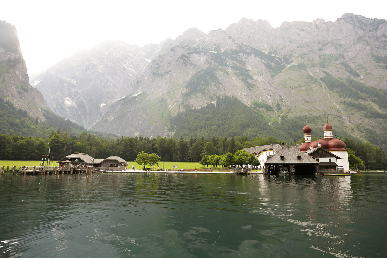Deutschland Electric Boat German Germany Königssee Lake Lake And Mountain Mountain Mountains Outdoors St Bartholomae Travel Travel Destinations Travel Photography