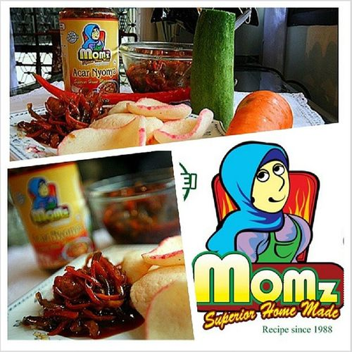 Limited quantities of Momz Acar is now available for order at B$10.00 per jar! Call or whatsapp 8779930 to order. Love Acar Keropok Lovefoodhatewaste Yummyinmytummy Brunei InstaBruDroid Andrography