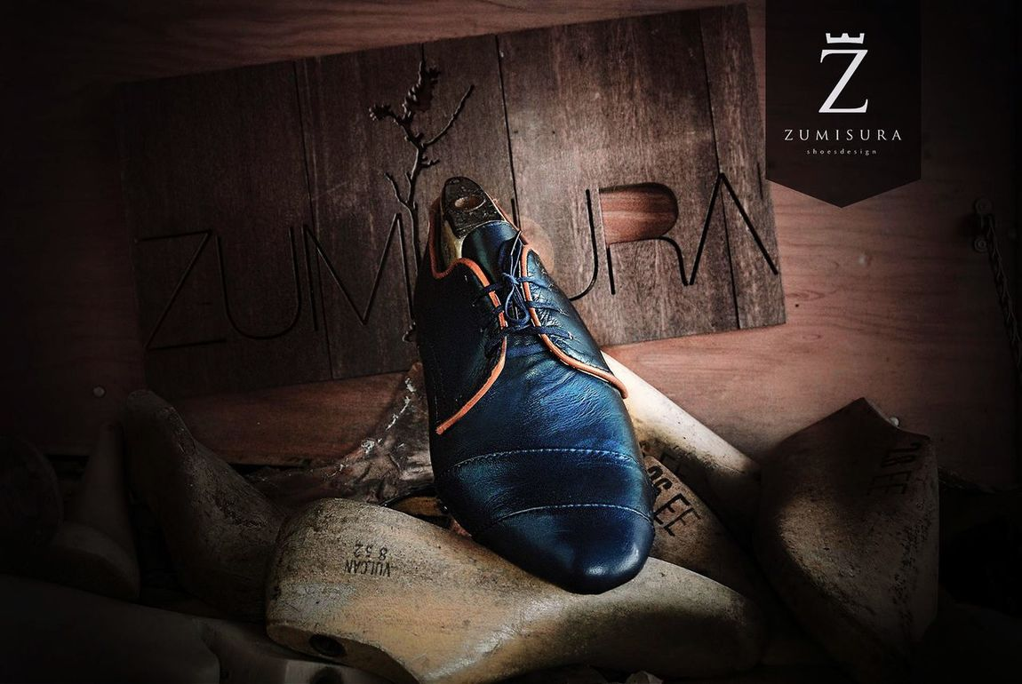 ZUMISURA Shoemaker Handmade Custommade Tijuana Shoes ♥ Zapatosalamedida Blue
