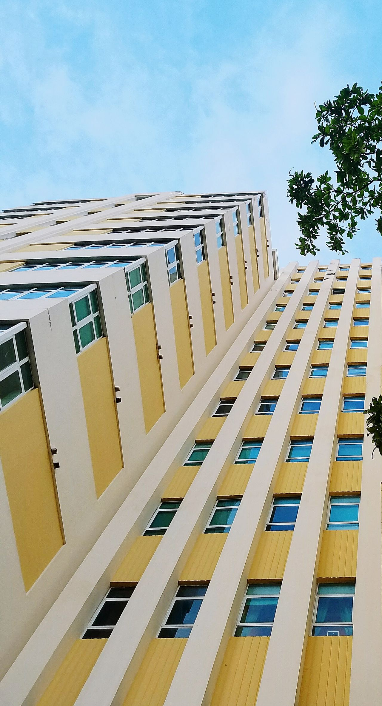 Minimalism Minimalist Architecture City Landscape Yellow Sky Building Exterior Colors Of My City Perspective Lines And Angles Architecture San Juan PR Simple Elegance City View  Break The Mold Forms And Shapes Still Life