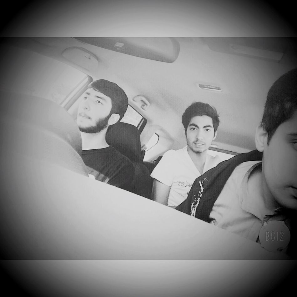 With ma old best friends😍👬😍 Old Best  Friends 😍👶😍👦😍👨😍 Driving 🚘🎵💙