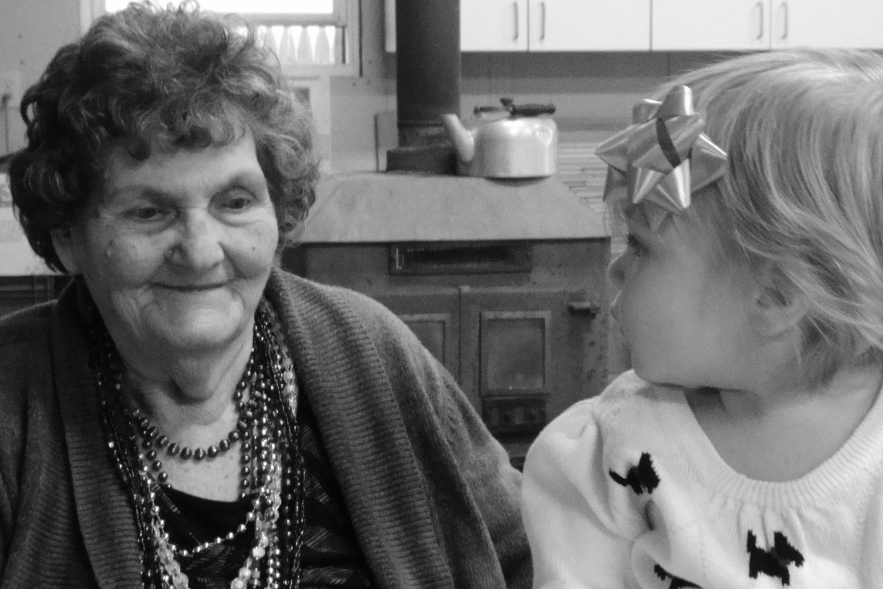 A moment of connection brings out a smile Blackandwhite Black And White EyeEm Best Shots Creative Light And Shadow Light And Shadow Shades Of Grey AlzheimersAwareness Capture The Moment Alzheimers Enjoying Life Hello World Generations Love Black & White Eyeem Black And White Home Is Where The Art Is