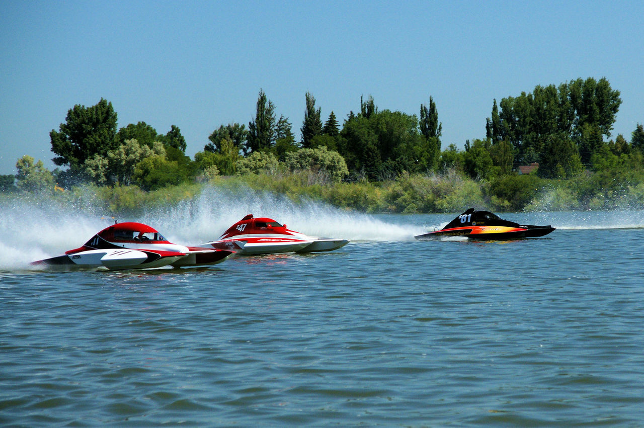 Love the water Aquatic Sport Competition Day Jet Boat Mode Of Transport Motion Motorsport Nature Nautical Vessel No People Outdoors Sky Speed Speedboat Sport Sports Race Transportation Wake - Water Water