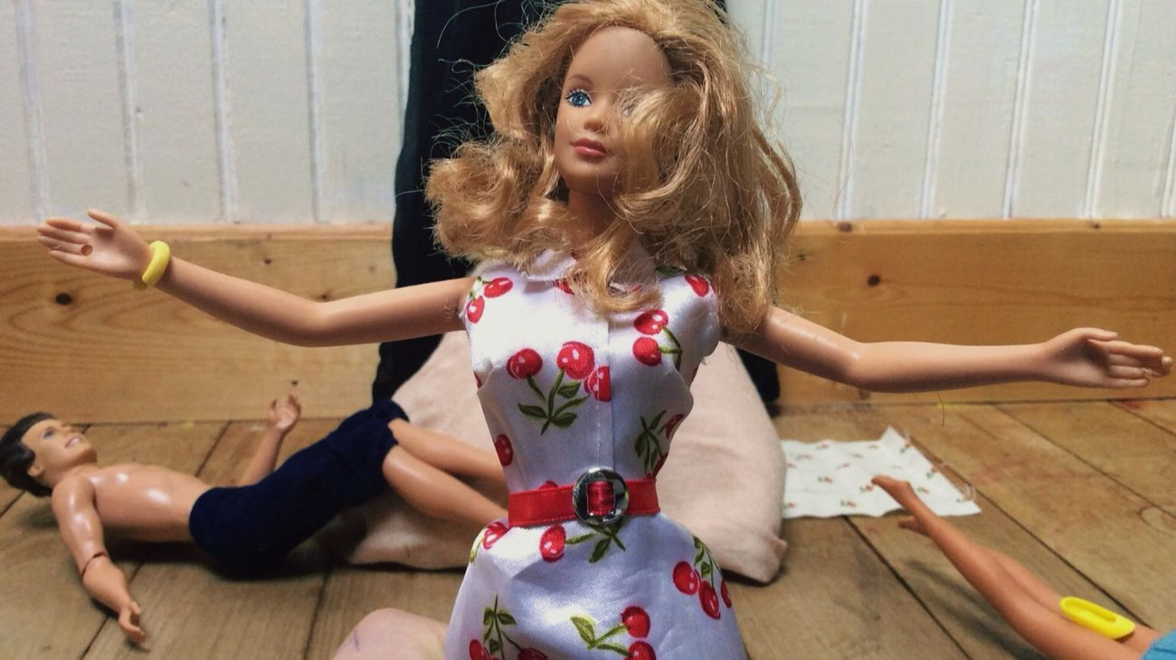 """My first stop motion video """"ken is a slag"""" Stopmotion Movies Fun Barbie First Eyeem Photo"""