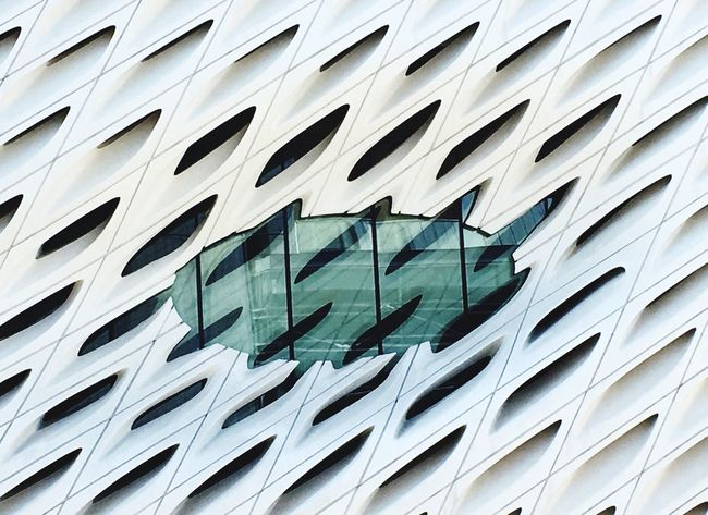 Architecture Building Exterior Built Structure Window Low Angle View No People Modern Full Frame Outdoors Day City Close-up The Broad DowntownLA Down Town Los Angeles