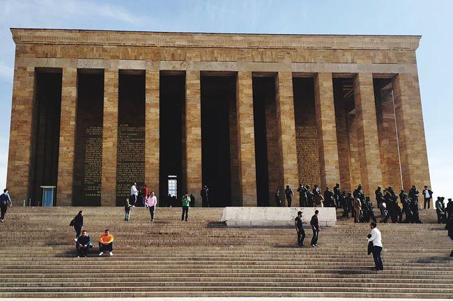 Dramatic Angles Monuments Anıtkabir Atatürk Mustafa Kemal Atatürk Architecture