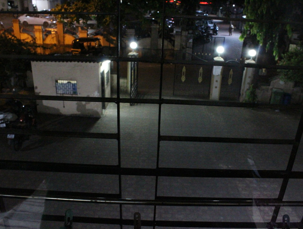 illuminated, night, lighting equipment, street light, architecture, building exterior, built structure, no people, indoors, city, film industry
