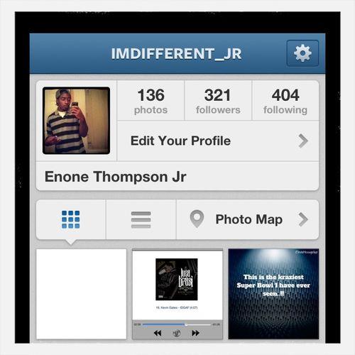 Follow Me On Ig Imdifferent_jr