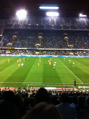 sport at Estadi del Mestalla by Pablo