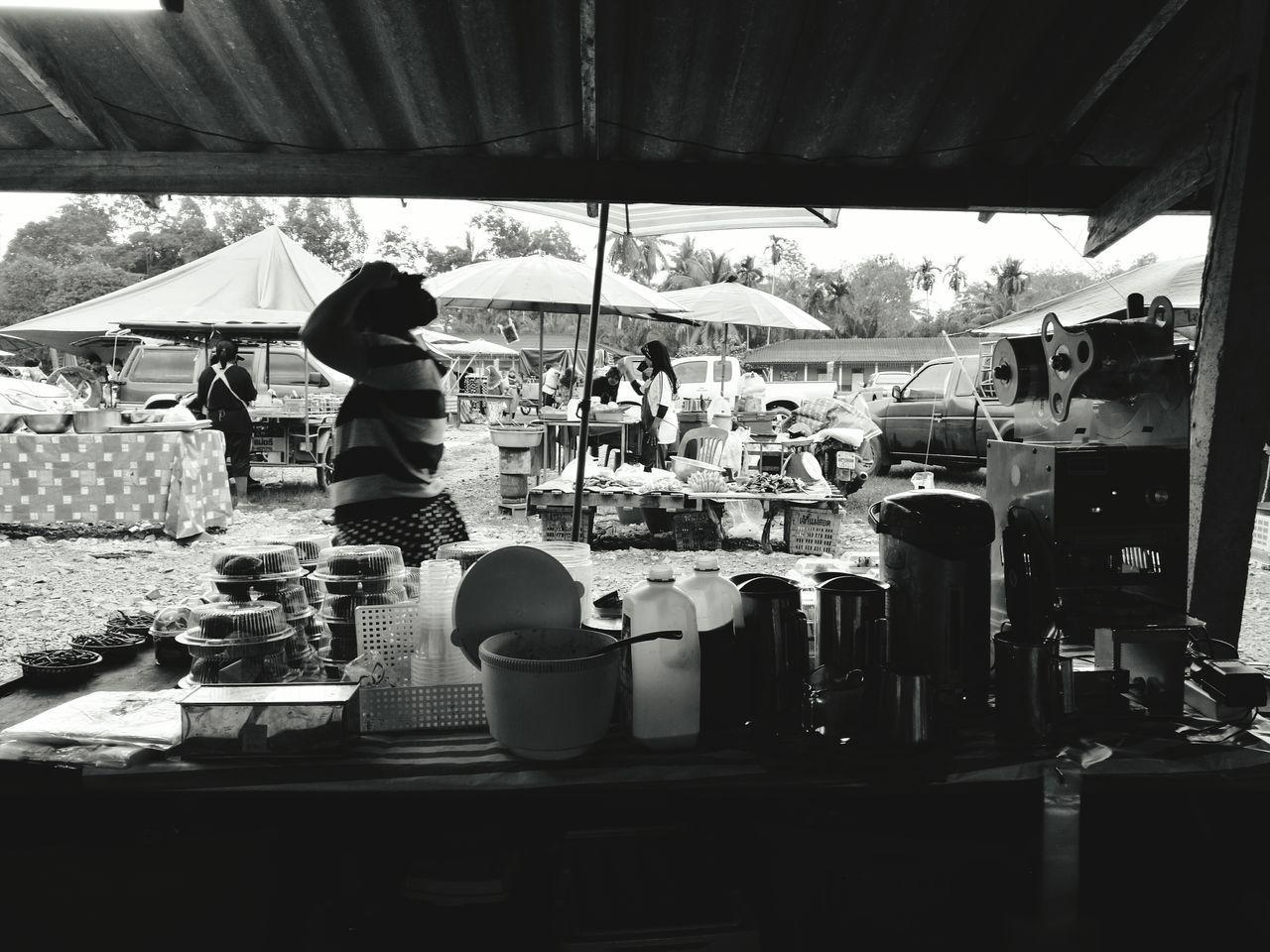 ร้านขายน้ำ Food And Drink Market Stall Real People Thai
