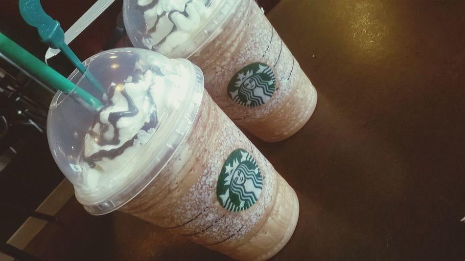 para el relajo! Starbacks Coffee Hello World Hi! Coffee Time Cooking Chocolate♡