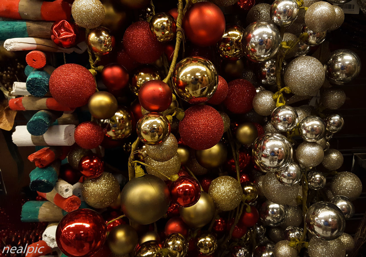 Christmas Decoration Christmas Ornament Close-up Day EyeEm Best Shots Indoors  Large Group Of Objects No People Red Variation