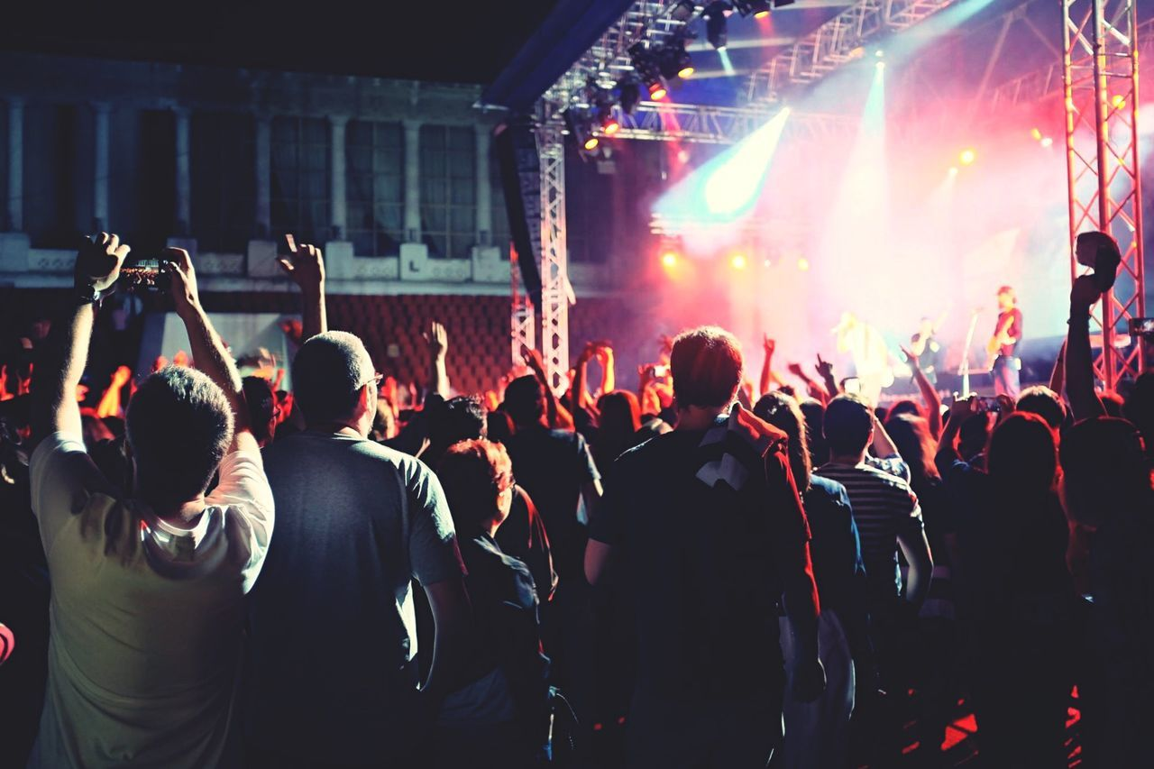 Beautiful stock photos of concert, Arts Culture And Entertainment, Audio Equipment, Concert, Enjoying