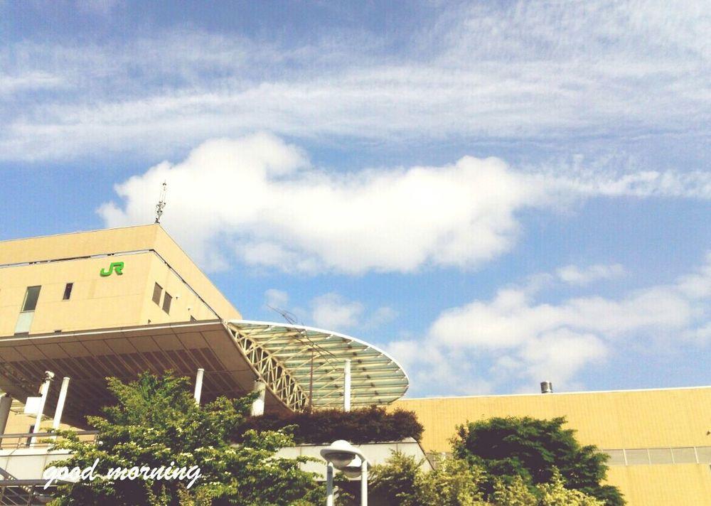いま空。今のところ爽やかな風🍃 Naturelovers Sky Collection Enjoying Life Goodmorning Sky And Clouds Nagano, Japan Nagano-sta. 暑くなりそうですが、頑張っていきましょう〜