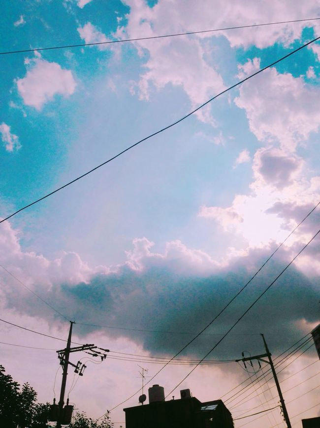 Today ♥ Today Sky Sky And Clouds Clouds And Sunshine Korea Sky Korea I Like Iphone 5 IPhoneography Iphone Eyeem