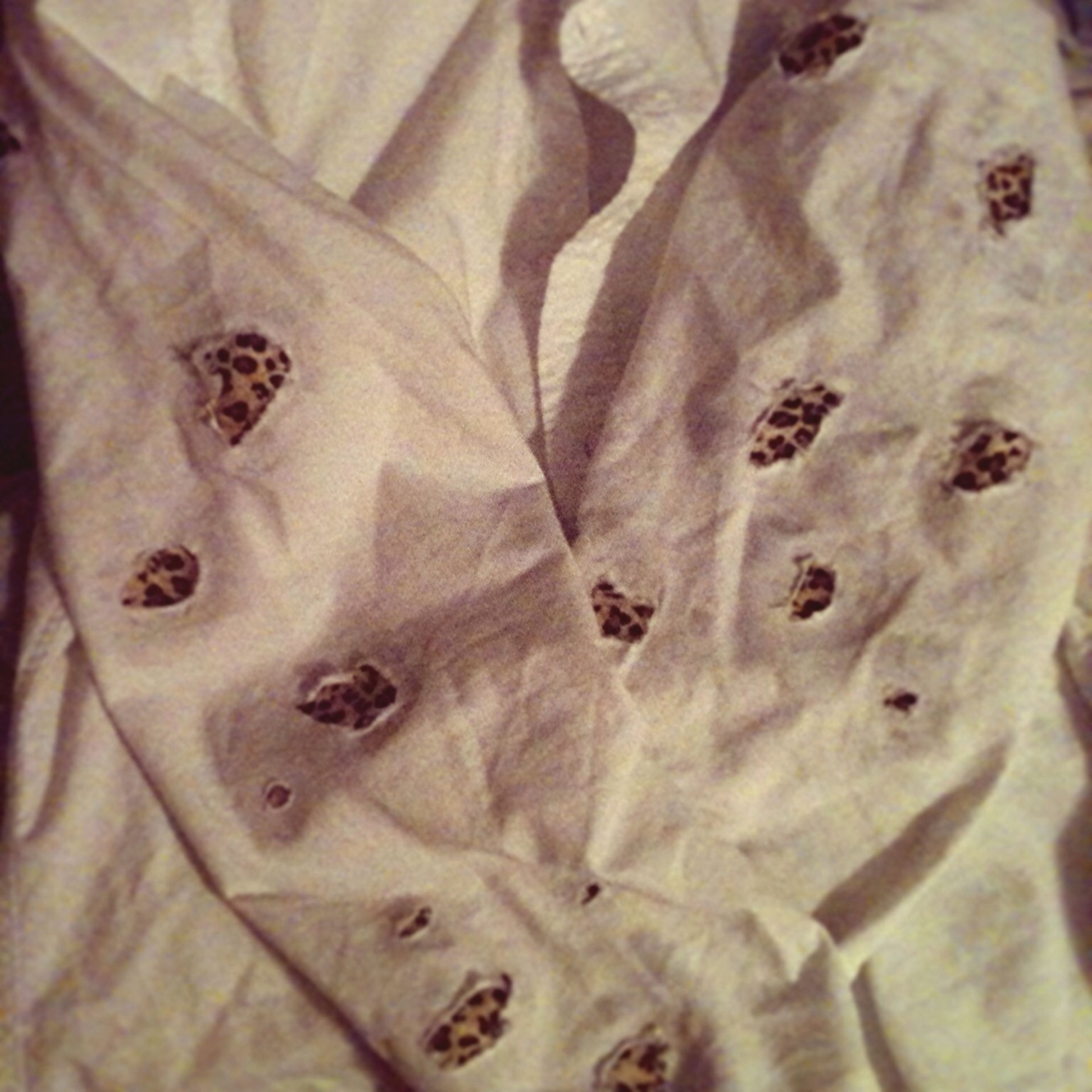 If You Like This White Button Down W/ The Cheetah Print Spots! Go Visit My Website Https://oakapparel.storenvy.com :)