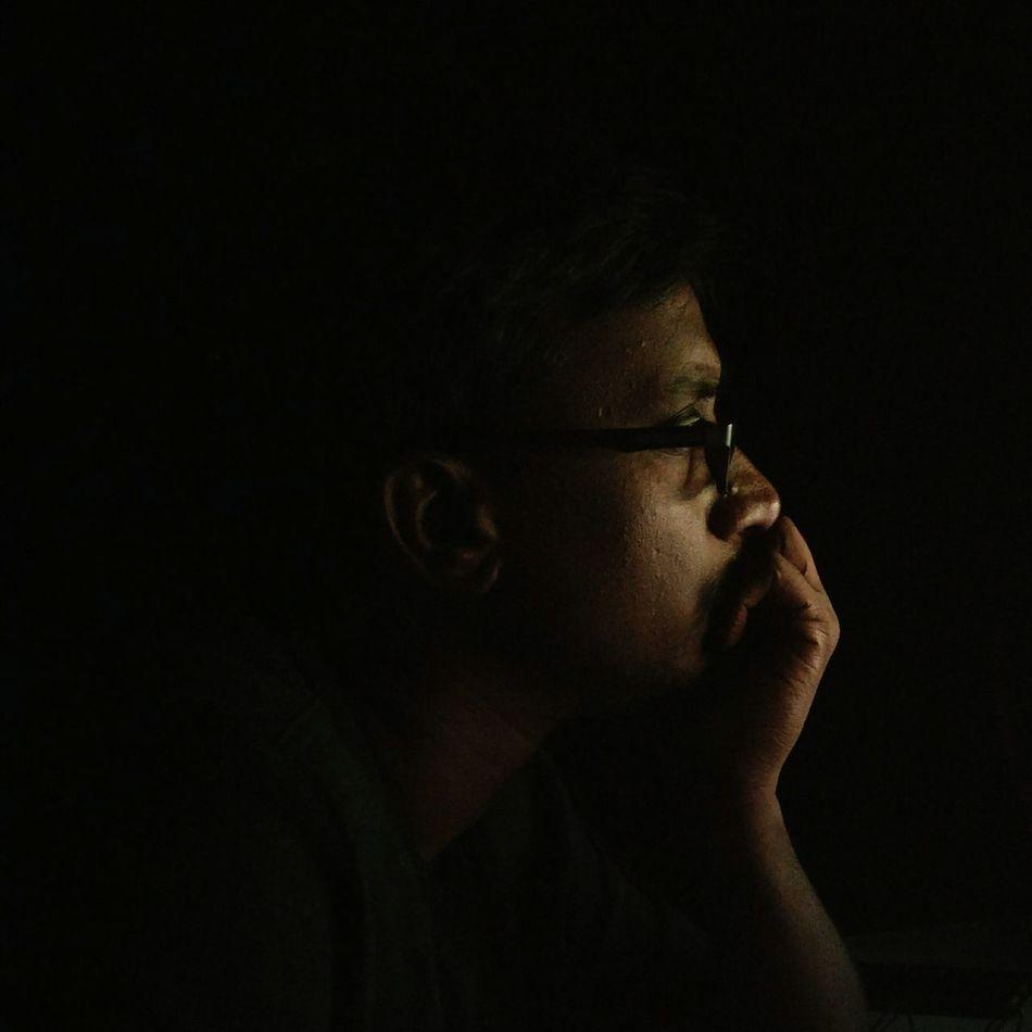 Dark side if bright !!!! Only Men Black Background Darkside nofilternoedit Oneplus3 Oneplusphotograpgy