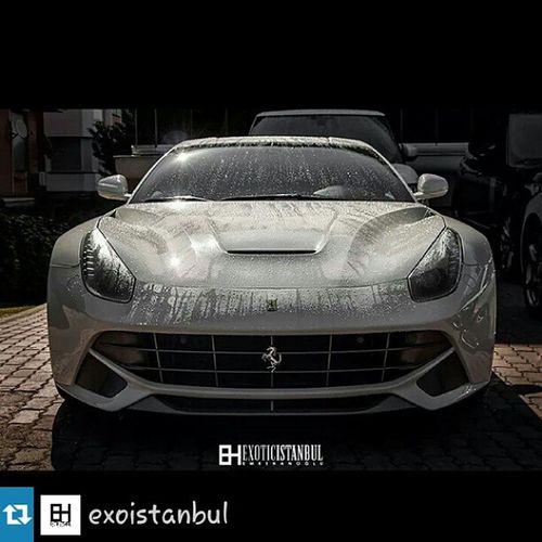 Ferrari F12 Berlinetta Wet cars love Repost from @exoistanbul with @repostapp — Imm ıslak.