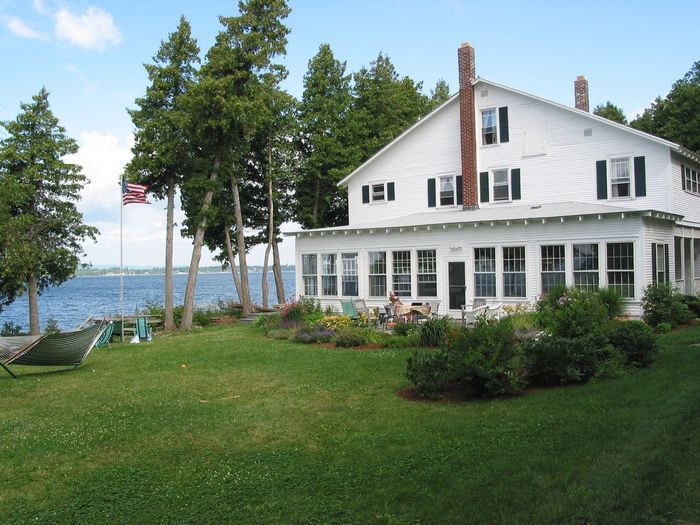 Live For The Story House Tree Outdoors Day Sky One Person Only Lake Summer Holidays Lake Champlain Wind Blue Sky Green Grass Summer House