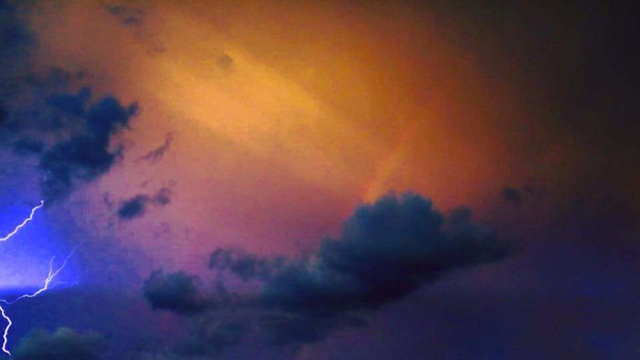 cloud - sky, dramatic sky, sky, multi colored, no people, night, silhouette, sunset, outdoors, storm cloud, beauty in nature, nature, thunderstorm, scenics, luminosity, illuminated, power in nature, lightning, close-up