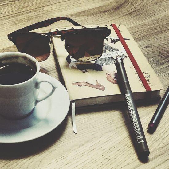 My Notebook Notebook Sunglass  Turkish Coffee