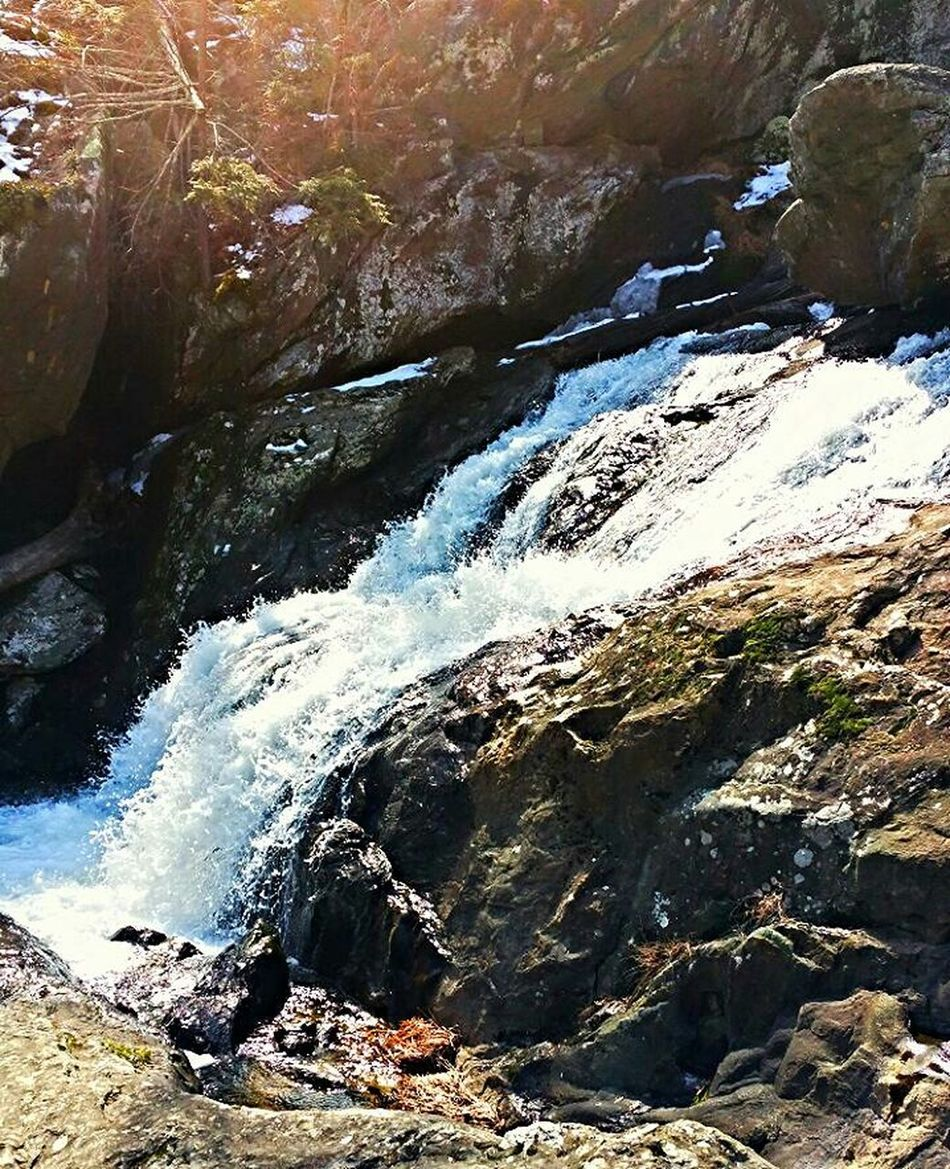 Spring Waterfall Nature Nature_collection Water Light And Shadow Outdoors Rock Hiking RockClimbing