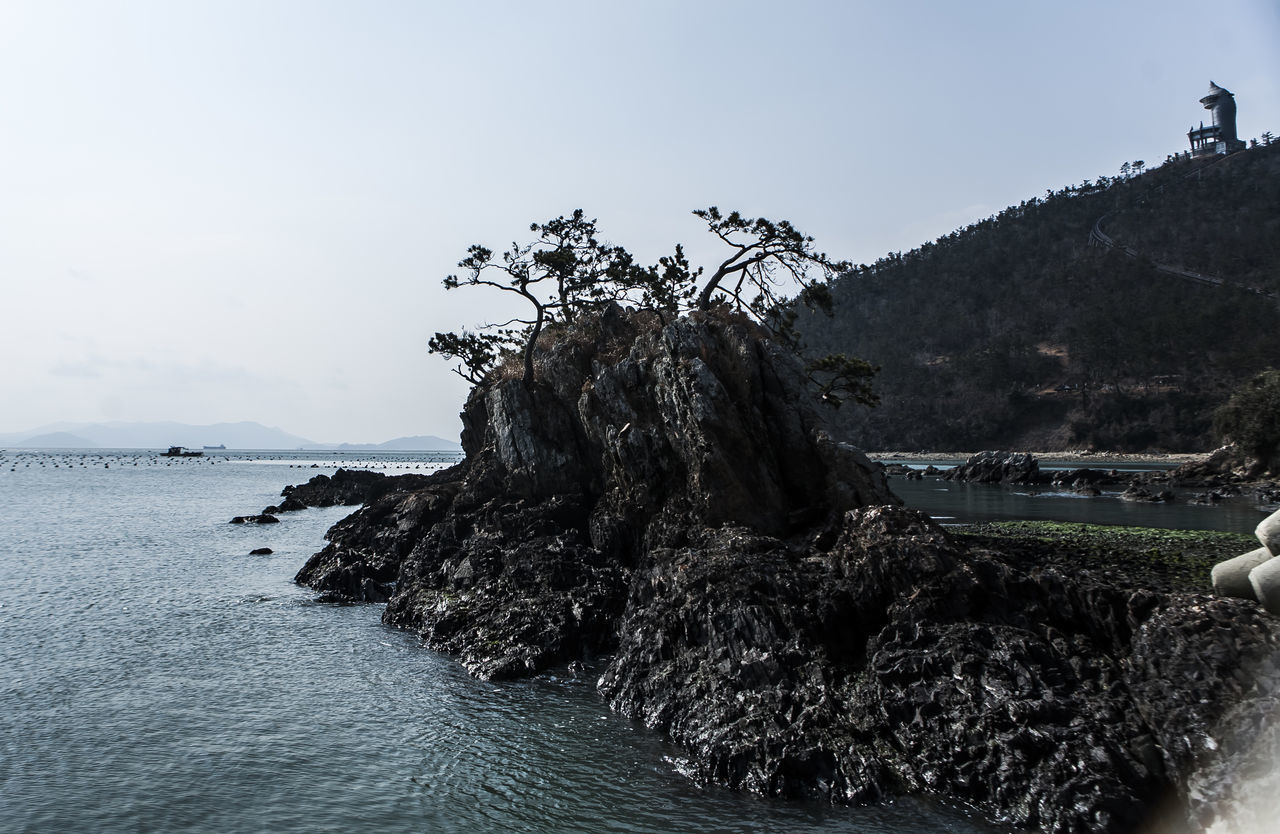 Haenam Korea Rock Land End Village Sea