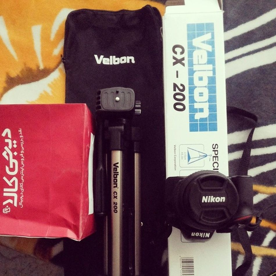 . دوست جدید نیکول ! Nikond3200 Nikon Velboncx200 Velbon نیکون نیکول