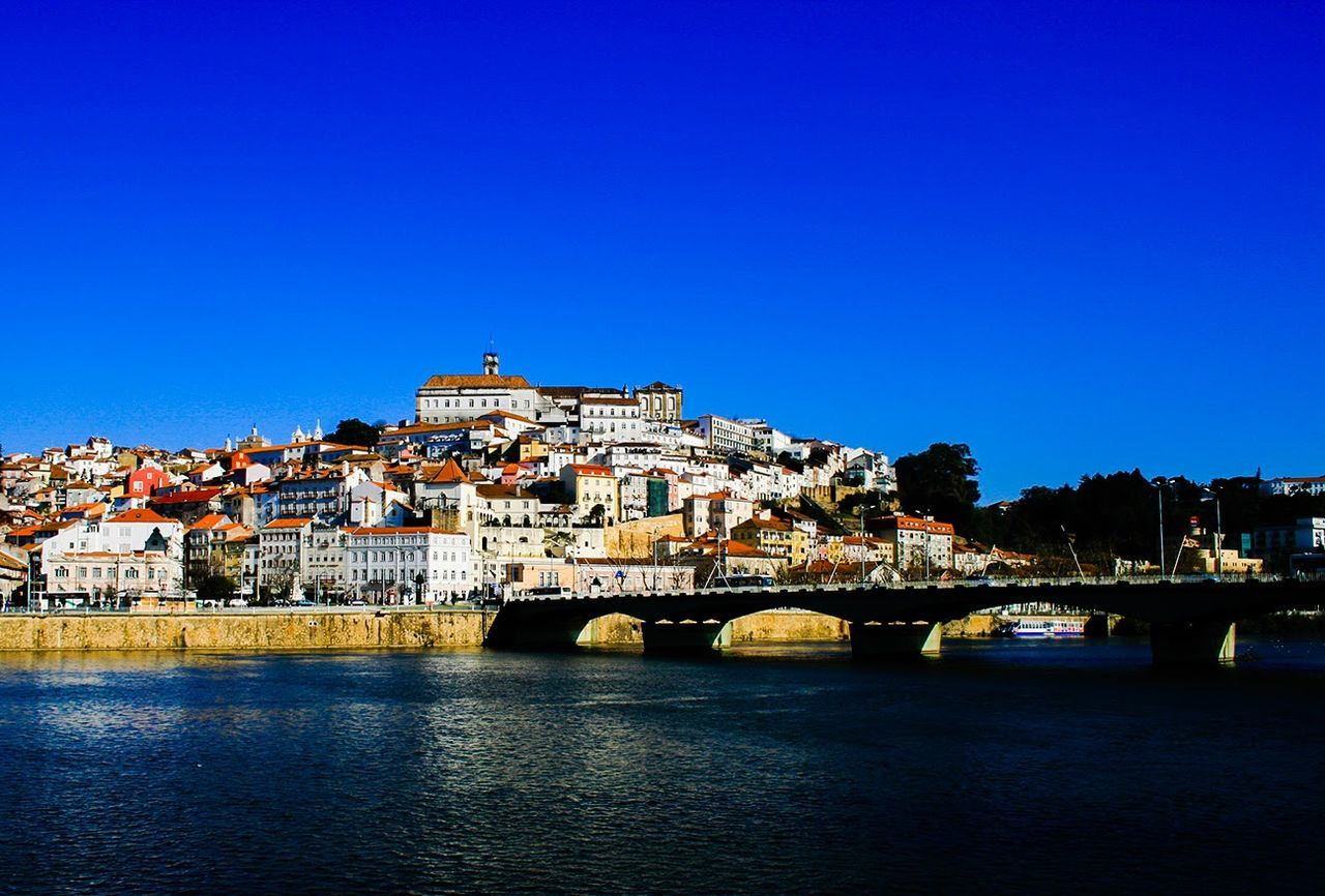 Coimbra City View Cityscapes Cityscape City View  City Landscape Cityexplorer Cityphotography Portugal Mondego River Bridge Bridgesaroundtheworld Riverside River View Riverside Photography
