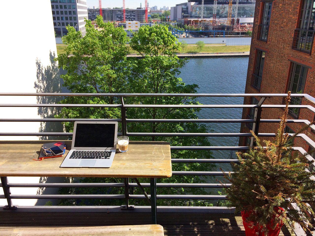 Balcony Officeview Berlin Spreeview VCCP