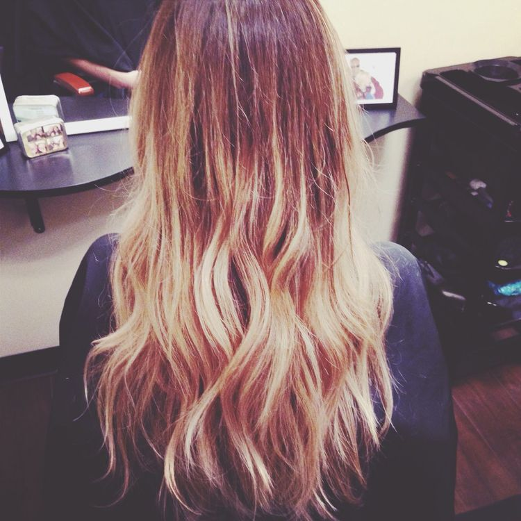Getting Fresh Ombre Hair New Look At The Salon
