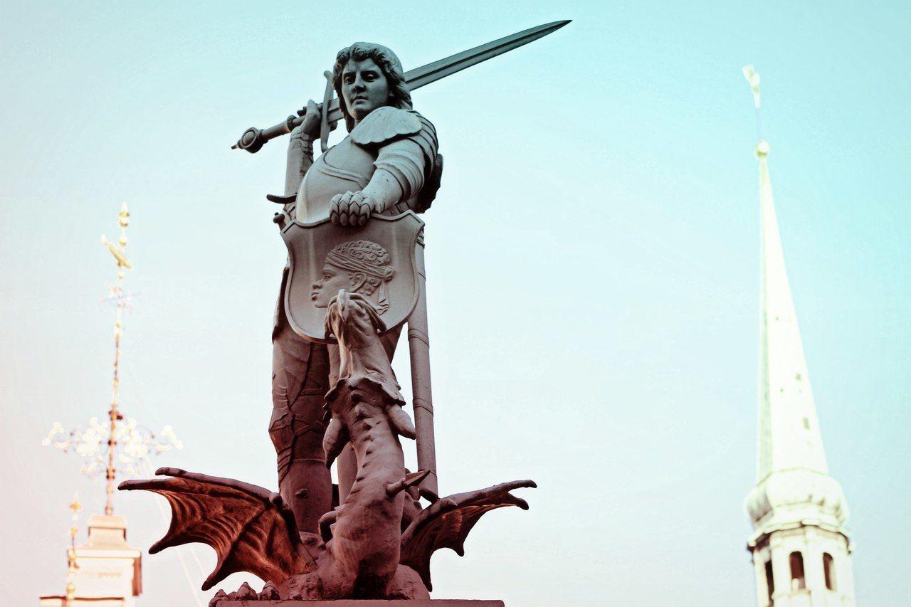Architecture Art Fantasy Character Dragon Image Imagination Imaginationarts Shape Shield Statue Sword Riga Latvia