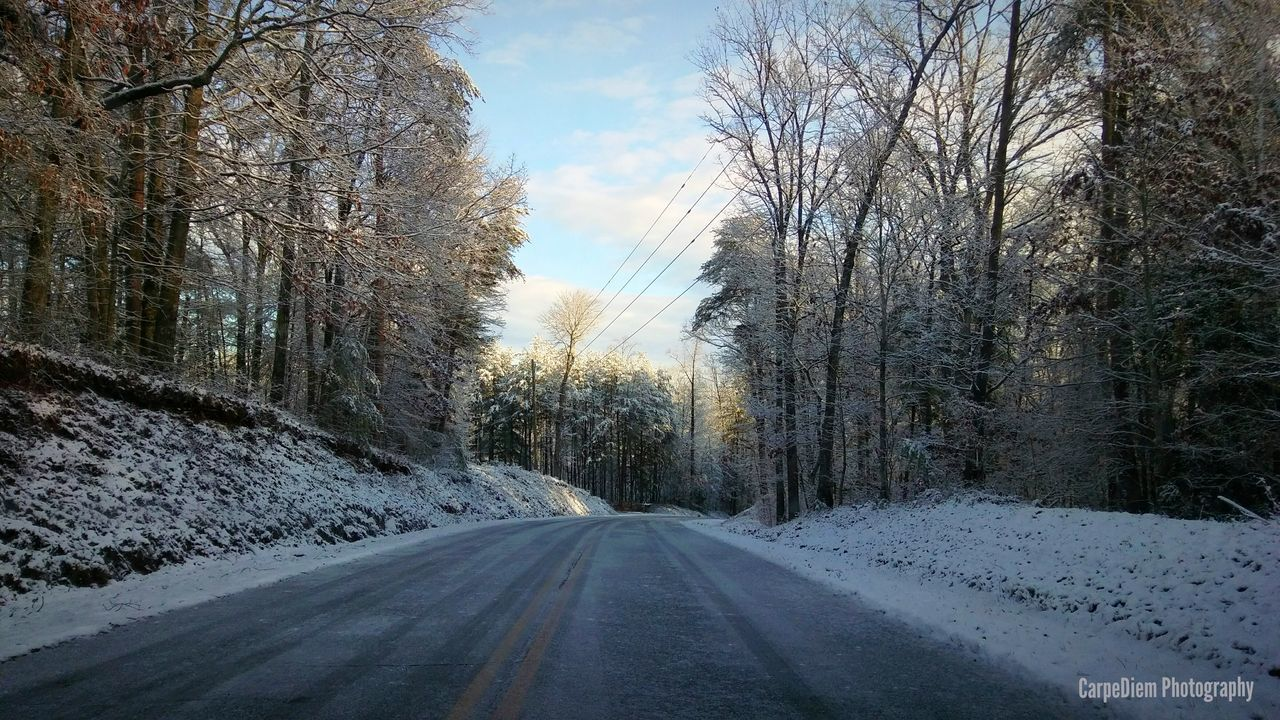 Beauty In Nature Snow ❄ Cleveland Ga The Way Forward Backroads